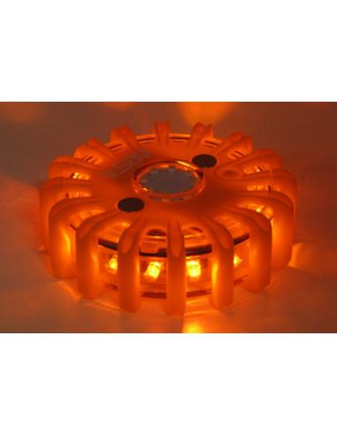 Lampe LED de sécurité orange